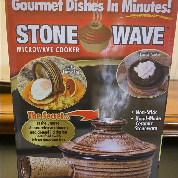 As Seen On Tv Kitchen Stone Wave Microwave Cooker Poshmark